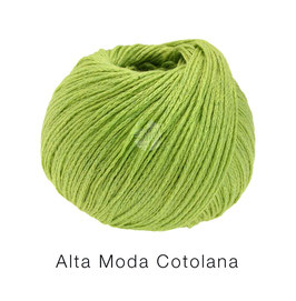 Alta Moda Cotolana Farbe 27, Pistazie, Edles Kettengarn aus Merino und Pima Baumwolle