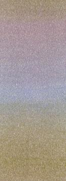 Amoroso Farbe 2 Voluminöses Kettengarn mit Tweed-Noppen aus Seide & Dégradé-Effekt Zartblau/Rosa/Flieder/Sandgelb/Helloliv