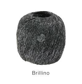 Brillino Farbe 18, Schwarzbraun/Silber, Beilaufgarn mit farbigem Lurexfaden