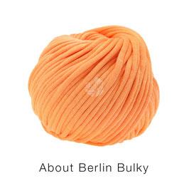 About Berlin Bulky  Farbe 2, Mandarin Schlauch-Bändchengarn
