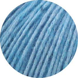 Ecopuno Farbe 29 Türkisblau, Edles Garn aus Baumwolle mit Merino und Alpaka