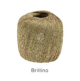 Brillino Farbe 4, Camel/Gold, Beilaufgarn mit farbigem Lurexfaden