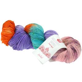 Meilenweit 100 Merino Hand-Dyed  Farbe 309, Kailash, Sockengarn aus Merinowolle, waschmaschinenfest, handgefärbt