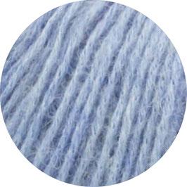 Ecopuno Farbe 13 Hellblau, Edles Garn aus Baumwolle mit Merino und Alpaka