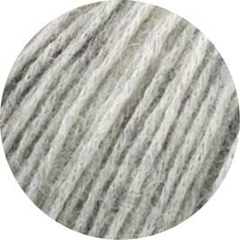 Ecopuno Farbe 14 Hellgrau, Edles Garn aus Baumwolle mit Merino und Alpaka