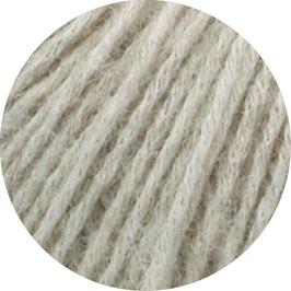 Ecopuno Farbe 18 Grège, Edles Garn aus Baumwolle mit Merino und Alpaka