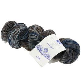 Cool Wool Big Hand-Dyed Farbe 206, Chai - Petrol/Mint/Anthrazit, Extrafeine Merinowolle waschmaschinenfest und filzfrei, handgefärbt