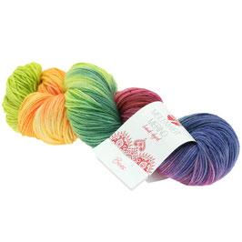 Meilenweit 100 Merino Hand-Dyed  Farbe 409, Beas, Sockengarn aus Merinowolle, waschmaschinenfest, handgefärbt