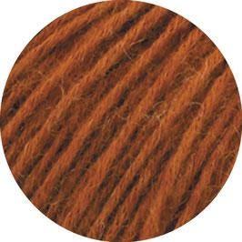 Ecopuno Farbe 49 Zimtbraun, Edles Garn aus Baumwolle mit Merino und Alpaka