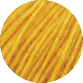 Ecopuno Farbe 4 Gelb, Edles Garn aus Baumwolle mit Merino und Alpaka