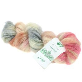 Silkhair Hand-Dyed  Farbe  610, Feines Lace-Garn aus Superkid Mohair mit Seide, handgefärbt