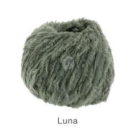 Luna  Farbe: 6, Geschnittenes Bändchengarn aus Merinowolle in Chenilleoptik