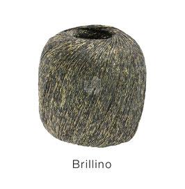 Brillino Farbe 5, Grau/Gold, Beilaufgarn mit farbigem Lurexfaden