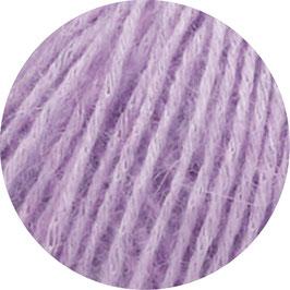 Ecopuno Farbe 30 Lila, Edles Garn aus Baumwolle mit Merino und Alpaka