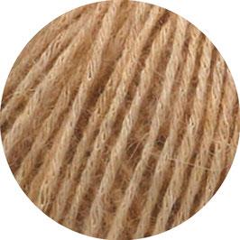 Ecopuno Farbe 32 Camel, Edles Garn aus Baumwolle mit Merino und Alpaka