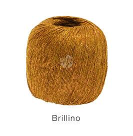 Brillino Farbe 2, Rotgold, Beilaufgarn mit farbigem Lurexfaden