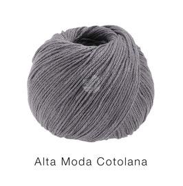 Alta Moda Cotolana Farbe 16, Dunkelgrau, Edles Kettengarn aus Merino und Pima Baumwolle