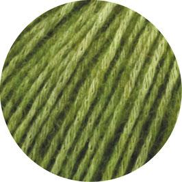 Ecopuno Farbe 2 Apfelgrün, Edles Garn aus Baumwolle mit Merino und Alpaka