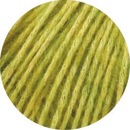Ecopuno Farbe 3 Gelbgrün, Edles Garn aus Baumwolle mit Merino und Alpaka