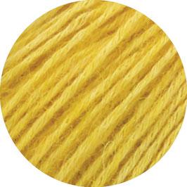 Ecopuno Farbe 52 Hellgelb, Edles Garn aus Baumwolle mit Merino und Alpaka
