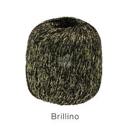 Brillino Farbe 15, Schwarz/Gold, Beilaufgarn mit farbigem Lurexfaden