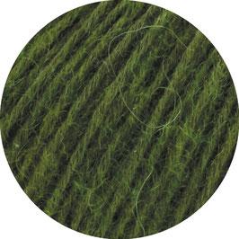 Ecopuno Farbe 54 dunkles Olivgrün, Edles Garn aus Baumwolle mit Merino und Alpaka