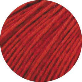 Ecopuno Farbe 47 Kirschrot, Edles Garn aus Baumwolle mit Merino und Alpaka