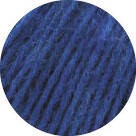 Ecopuno Farbe 42 Blau, Edles Garn aus Baumwolle mit Merino und Alpaka
