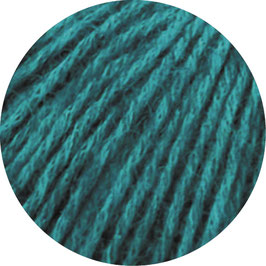 Ecopuno Farbe 12 Petrol, Edles Garn aus Baumwolle mit Merino und Alpaka
