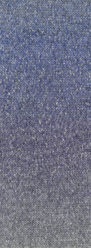 Amoroso Farbe 4 Voluminöses Kettengarn mit Tweed-Noppen aus Seide & Dégradé-Effekt Hellgrau/Jeans/Veilchenblau/Grau