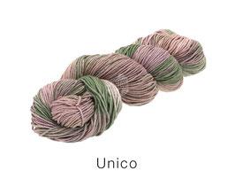 Lana Grossa Linea Pura Unico Farbe 6, Handgefärbte Stränge aus Bambus & Leinen