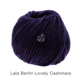 Lala Berlin Lovely Cashmere Farb-Nr. 15, Aubergine, Soffilo mit Kaschmir