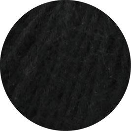 Ecopuno Farbe 16 Schwarz, Edles Garn aus Baumwolle mit Merino und Alpaka