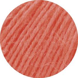 Ecopuno Farbe 39 Lachs, Edles Garn aus Baumwolle mit Merino und Alpaka
