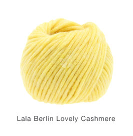 Lala Berlin Lovely Cashmere Farb-Nr. 13, Gelb, Soffilo mit Kaschmir