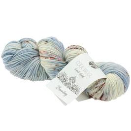 Cool Wool Hand-Dyed Farbe 107, Extrafeine Merinowolle waschmaschinenfest und filzfrei, handgefärbt