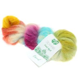 Silkhair Hand-Dyed  Farbe  609, Kamal, Feines Lace-Garn aus Superkid Mohair mit Seide, handgefärbt