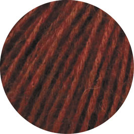 Ecopuno Farbe 31 Braunrot, Edles Garn aus Baumwolle mit Merino und Alpaka