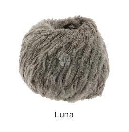 Luna  Farbe: 12, Geschnittenes Bändchengarn aus Merinowolle in Chenilleoptik