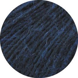 Ecopuno Farbe 43 Nachtblau, Edles Garn aus Baumwolle mit Merino und Alpaka