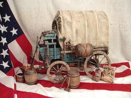 Le Chariot des Pionniers -  Maquette détaillée