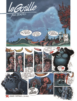 Le Gorille d'après la chanson de Brassens