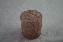 Windlicht Farbe Rosa D 7,5 x H 8 cm