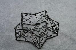Sternschale aus Draht