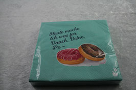 Lunch Serviette 33x33 cm Bauch, Beine, Po