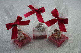 Schafmilchseife / Gästeseife 35 g mit verschiedenen Engelfiguren
