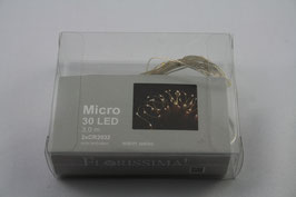 LED Lichterkette Micro 30 LED, 3 m warm weiss