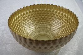 Glasschale Bubble Farbe gold