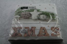 Lunch Serviette 33x33 cm Xmas