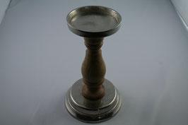 Kerzenhalter Holz/Metall